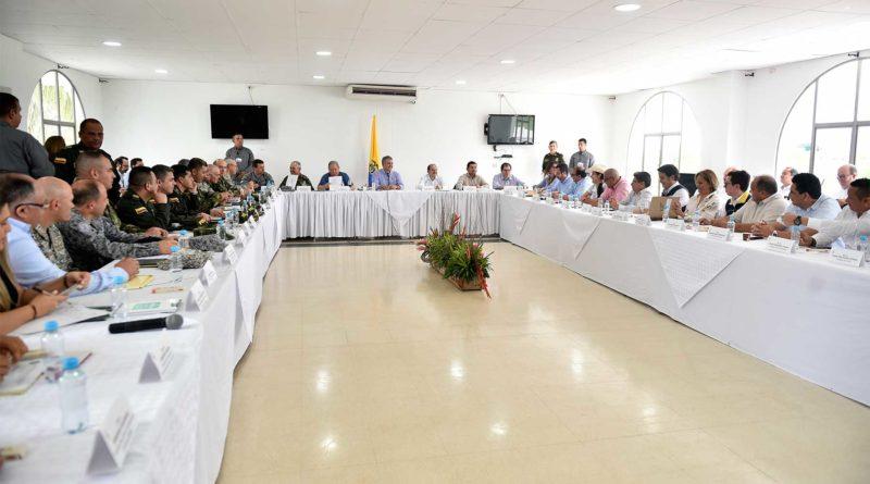 Trabajo articulado con todas las Fuerzas en Arauca está permitiendo resultados en seguridad.