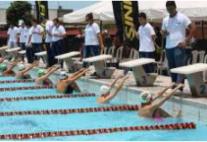 Se aplazó el torneo de natación en Villavicencio debido al cierre de la vía al Llano.