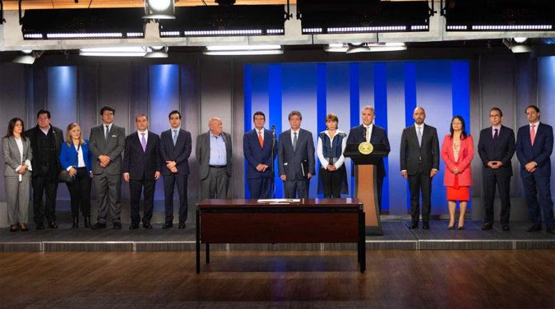 Declaración del Presidente de la República Iván Duque al finalizar la reunión con la Comisión Permanente de Concertación de Políticas Salariales y Laborales.