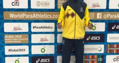 Excelente participación de Juan Moreno Márquez en el Mundial de Paraatletismo de Dubái.