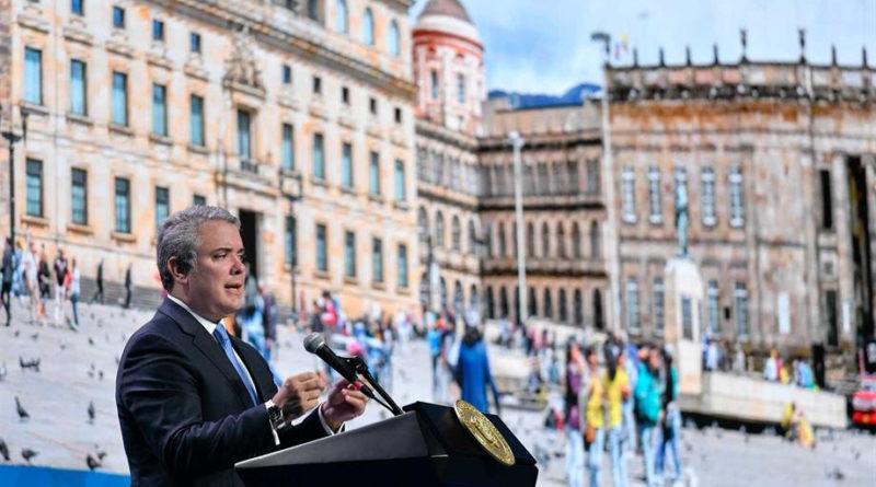 Ante alcaldes y Gobernadores electos, el Presidente Iván Duque resalta la estrategia para la generación de empleo.