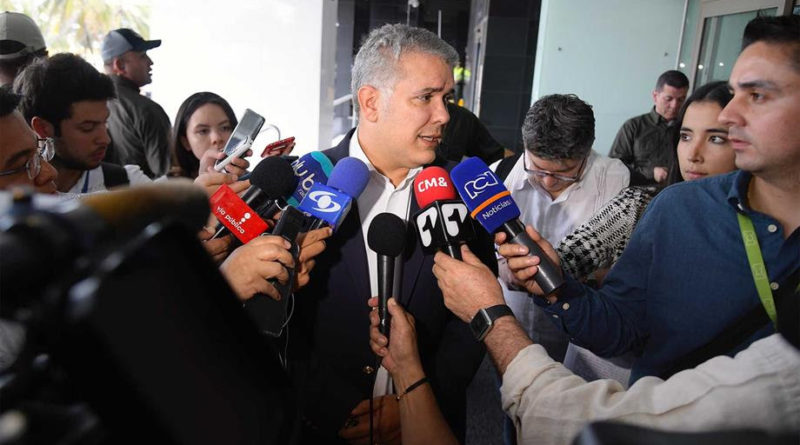 El Presidente Iván Dique hace un llamado a la Corte Suprema de Justicia para que escoja la mejor persona como Fiscal General.