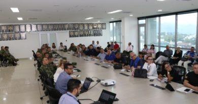 Gobernación del Meta lideró mesa de acción integral contra minas antipersona.