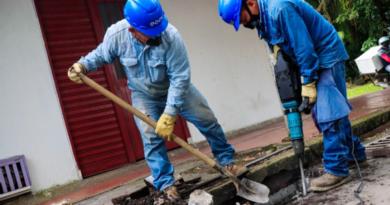 Comunidad de la ceiba reconoce labor de la EAAV en la recuperación de tapas y el mantenimiento de rejillas del alcantarillado