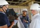 Secretaría de control físico realiza inspección a proyecto habitacional de la comuna uno