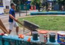 Los villavicenses embellecen su ciudad en el aniversario 181 de la capital del Meta