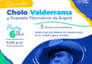 Concierto del Cholo Valderrama y la orquesta filarmónica de Bogotá enaltecen los 181 años de la ciudad