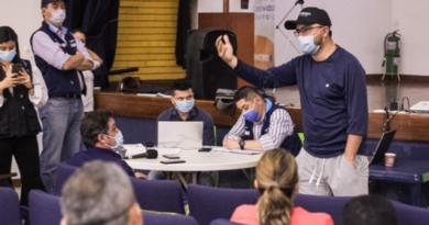 Transportadores del servicio público colectivo expresaron sus inquietudes ante el Alcalde Felipe Harman