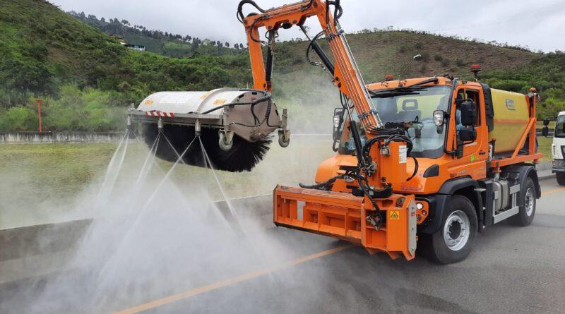 Coviandina amplía la flota de vehículos y maquinaria para la operación y mantenimiento de la vía Bogotá-Villavicencio