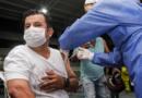Más de 1.700 personas fueron vacunadas durante la jornada especial realizada en el colegio Francisco Arango